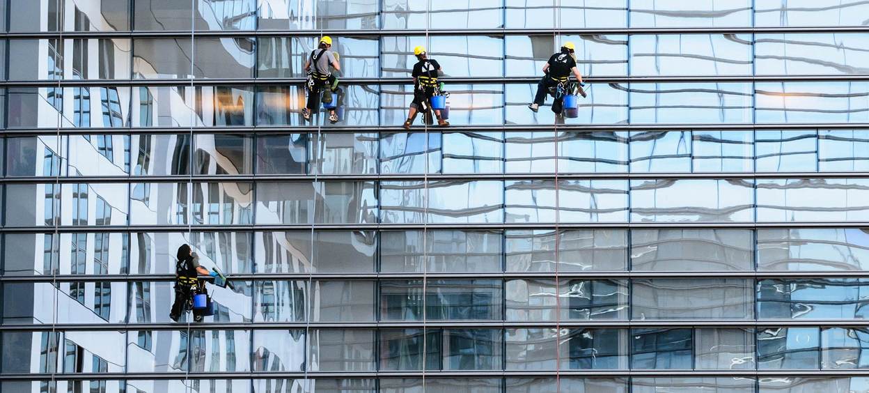 Skyscraper Window Cleaning Services Singapore | Realiable